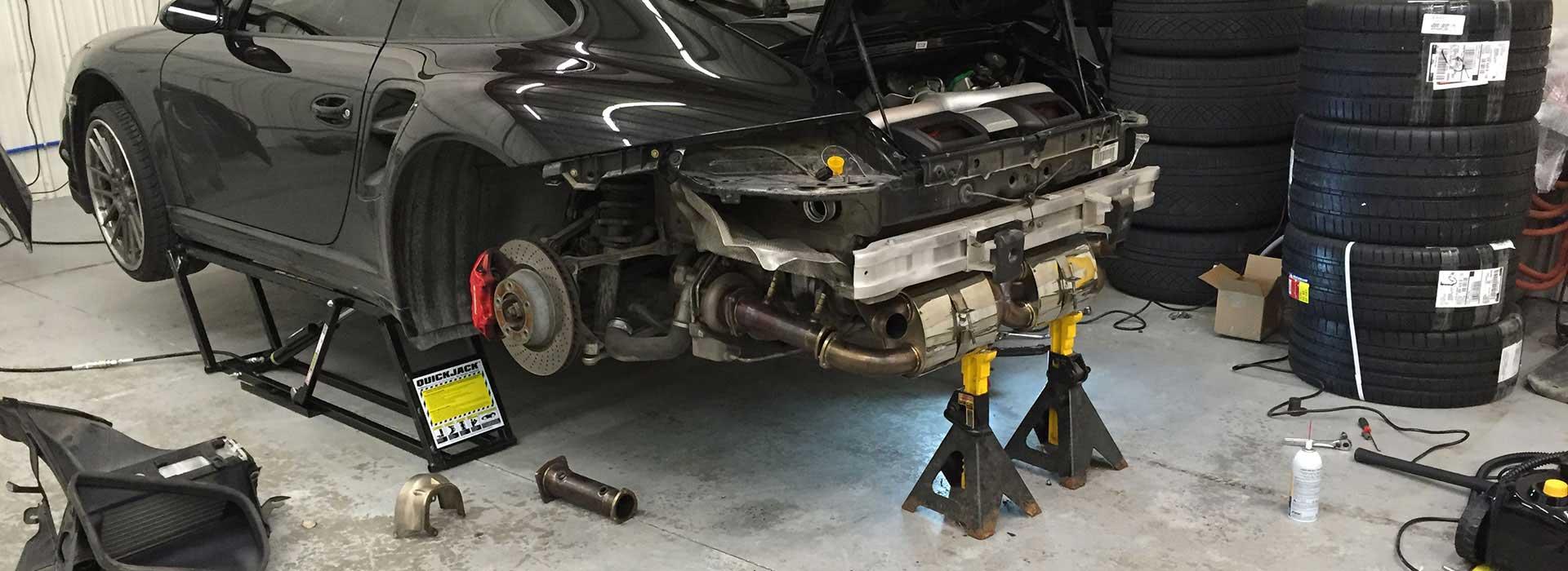 Car Lift Repair Shop